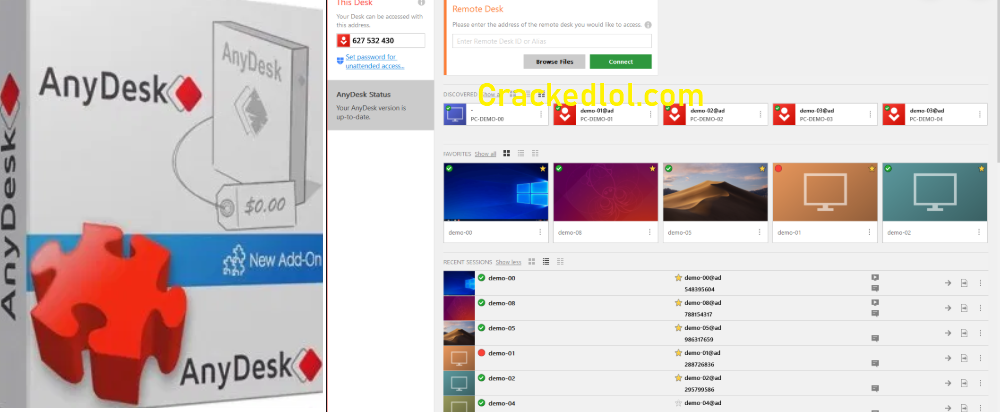 AnyDesk 6.2.1 License Key With Crack {Windows} Full Version Download