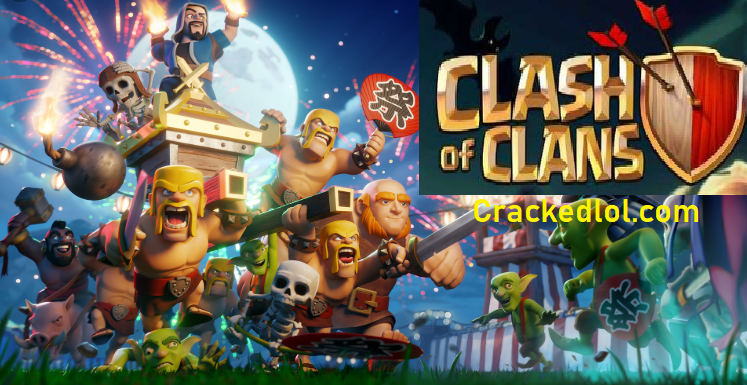 Clash of Clans Pc Download Free Hack + Unlimited Gem Crack