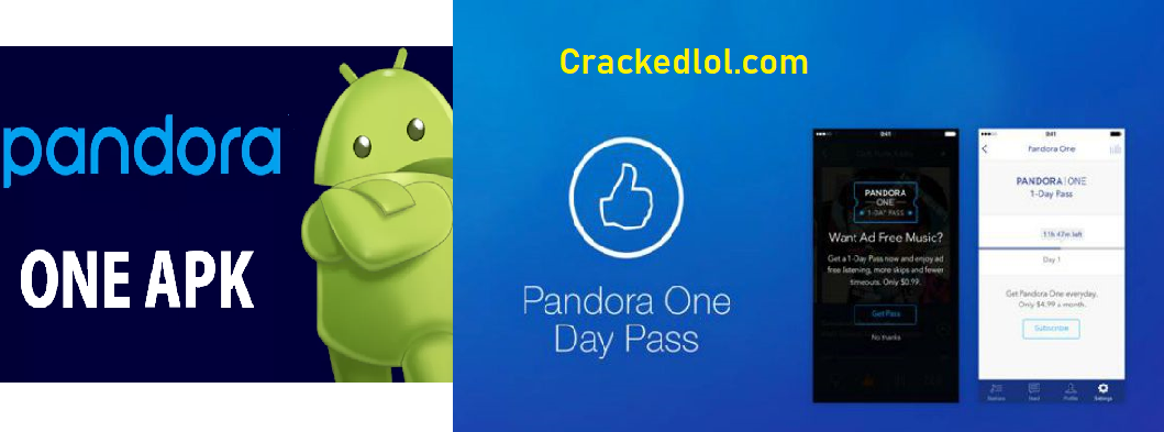 Pandora One Premium APK With Crack MOD Version Unlimited Download All 2019