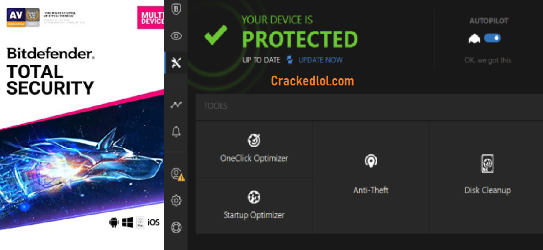 Bitdefender Total Security Crack 2020 Build 24.0.26.138 With Activation Code Download