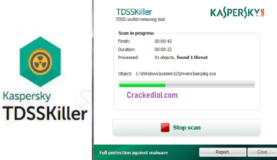 Kaspersky TDSSKiller 3.1.0.28 With Crack Full Version Download 2019