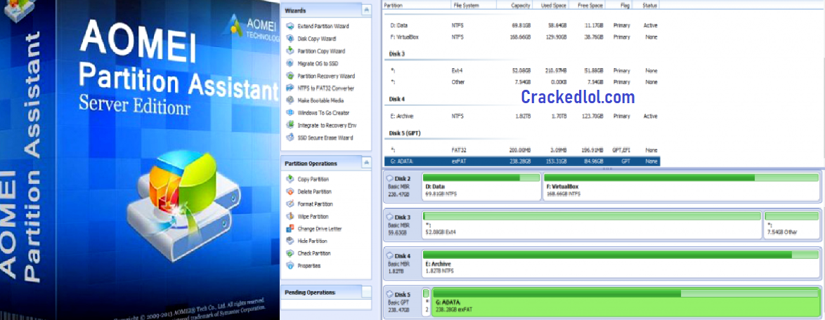 AOMEI Partition Assistant 8.6 Crack With License Code Full [Latest]