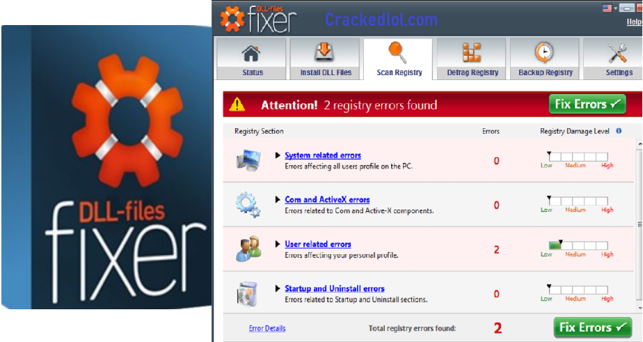 DLL Files Fixer Free Download