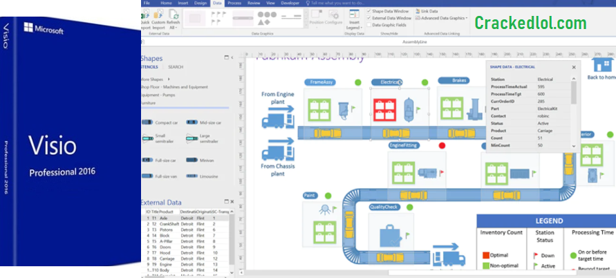 Microsoft Visio Pro 2020 With Product Key & Crack Free