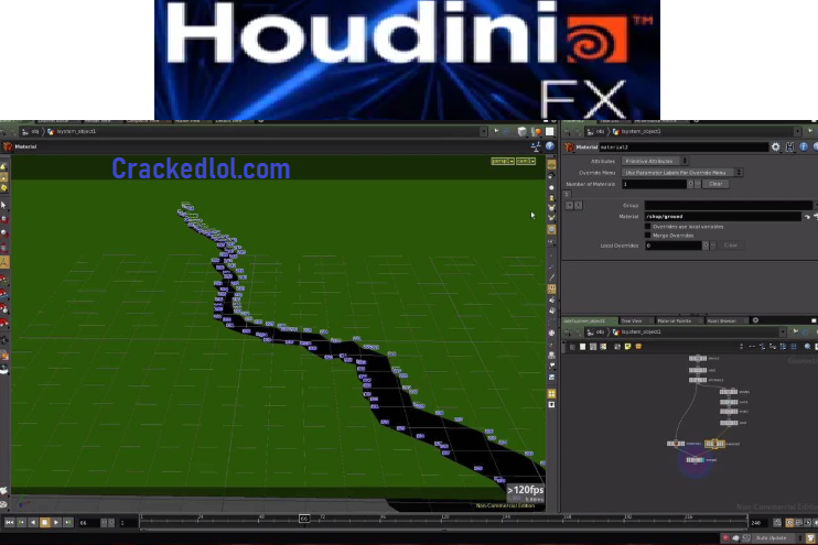 SideFX Houdini FX Free Download