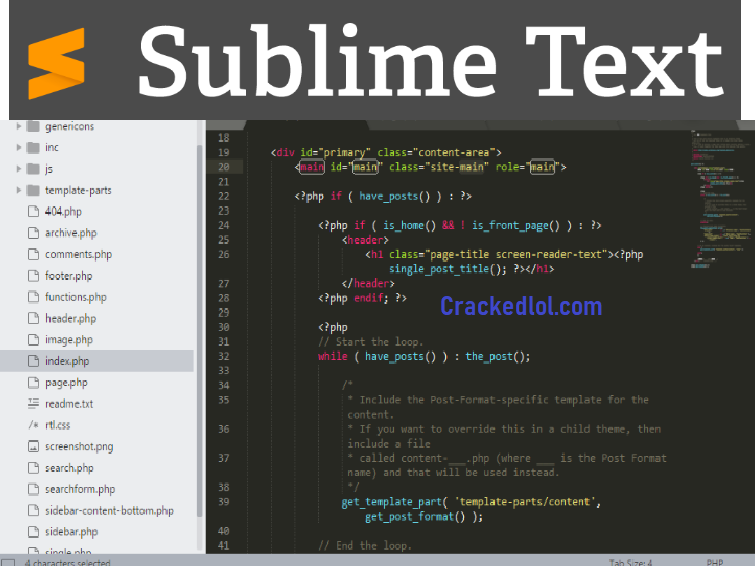 Sublime Text v3.2.2 Build 3211 Crack With License Keygen Free Download