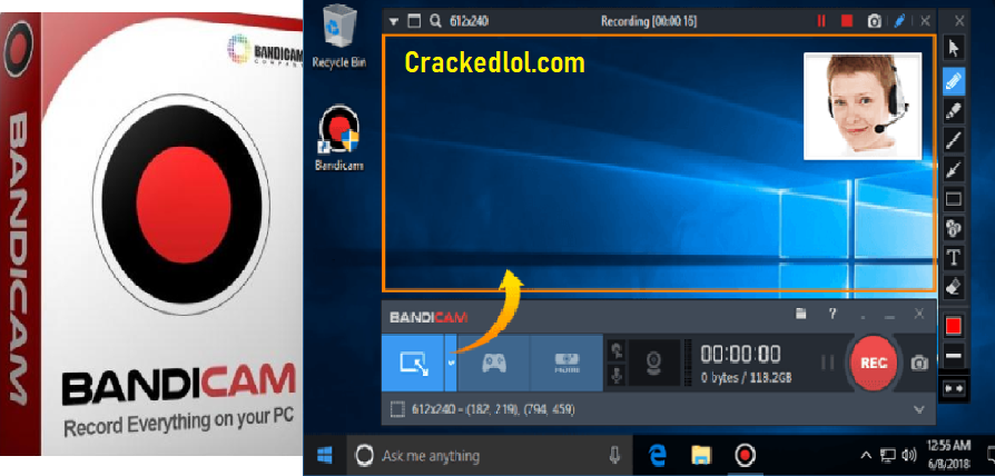 Bandicam Screen Recorder Crack 4.5.4 With Serial Keygen Full Lifetime