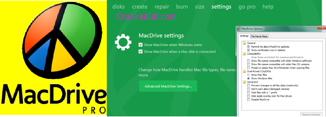 MacDrive Pro Crack 10.5.4 With Serial Keygen Full Torrent Lifetime